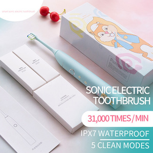 China Manufacturer Baby Toothbrush Set Waterproof Battery Rechargeable Smart Electric Toothbrush