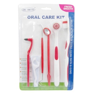 FDA approved disposable dental care kit oral care  orthodontic hygiene instruments braces kit