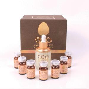 Korean cosmetic manufacturing OEM skin care set whitening essence anti aging serum egg stem cell serum