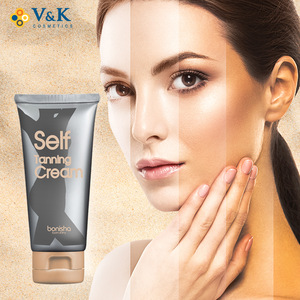 Korean Private Label OEM/ODM Self Tanning Skin Bronzing Cream