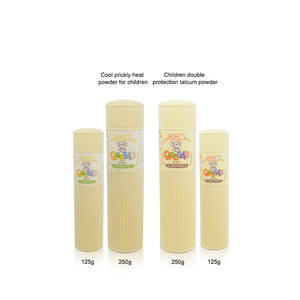 Low price private label manufacturers for baby body unscented talcum powder