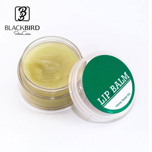 Plant Lip Moisturizer Treatment Hemp Infuse Hemp Seed Oil Lip Balm Wholesale