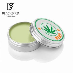 Plant Lip Moisturizer Treatment Hemp Infuse Hemp Seed Oil Lip Balm Wholesale