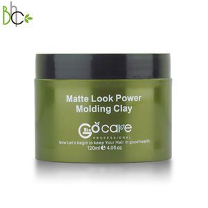 Professional Hair Styling Products Strong Hold Matte paste professional Power hair clay