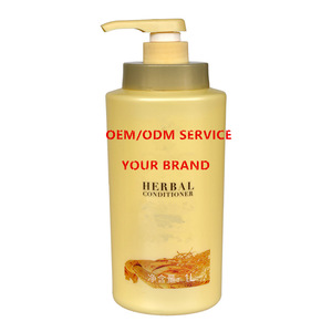 Professional herbal hair repairing conditioner OEM factory