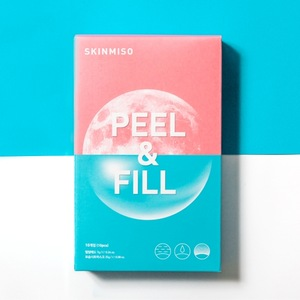 Skinmiso Peel & Fill 2 Step mask pack 7g+25g*10pcs K-Beauty Korean Cosmetic Beauty  Wholesale Face Mask Makeup Natural Skin Care