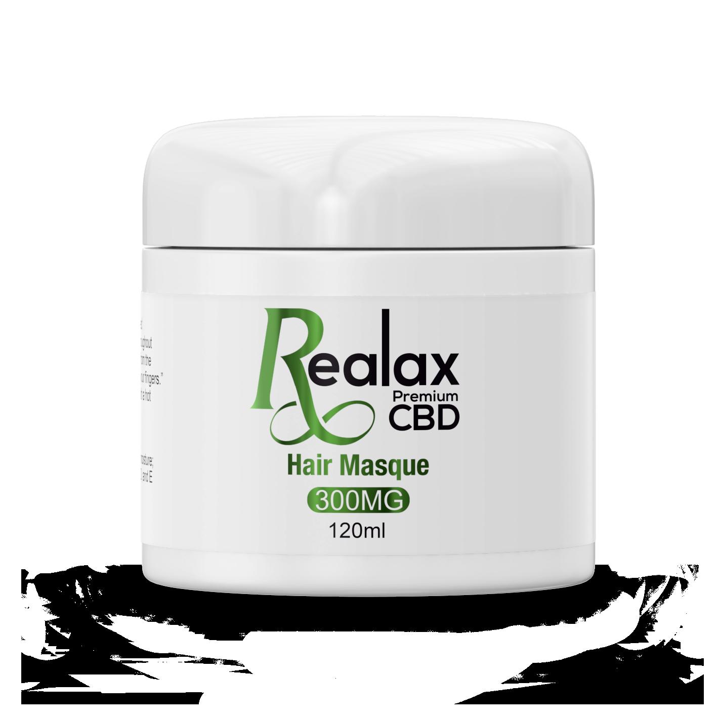 Realax CBD Hair Masque 300mg