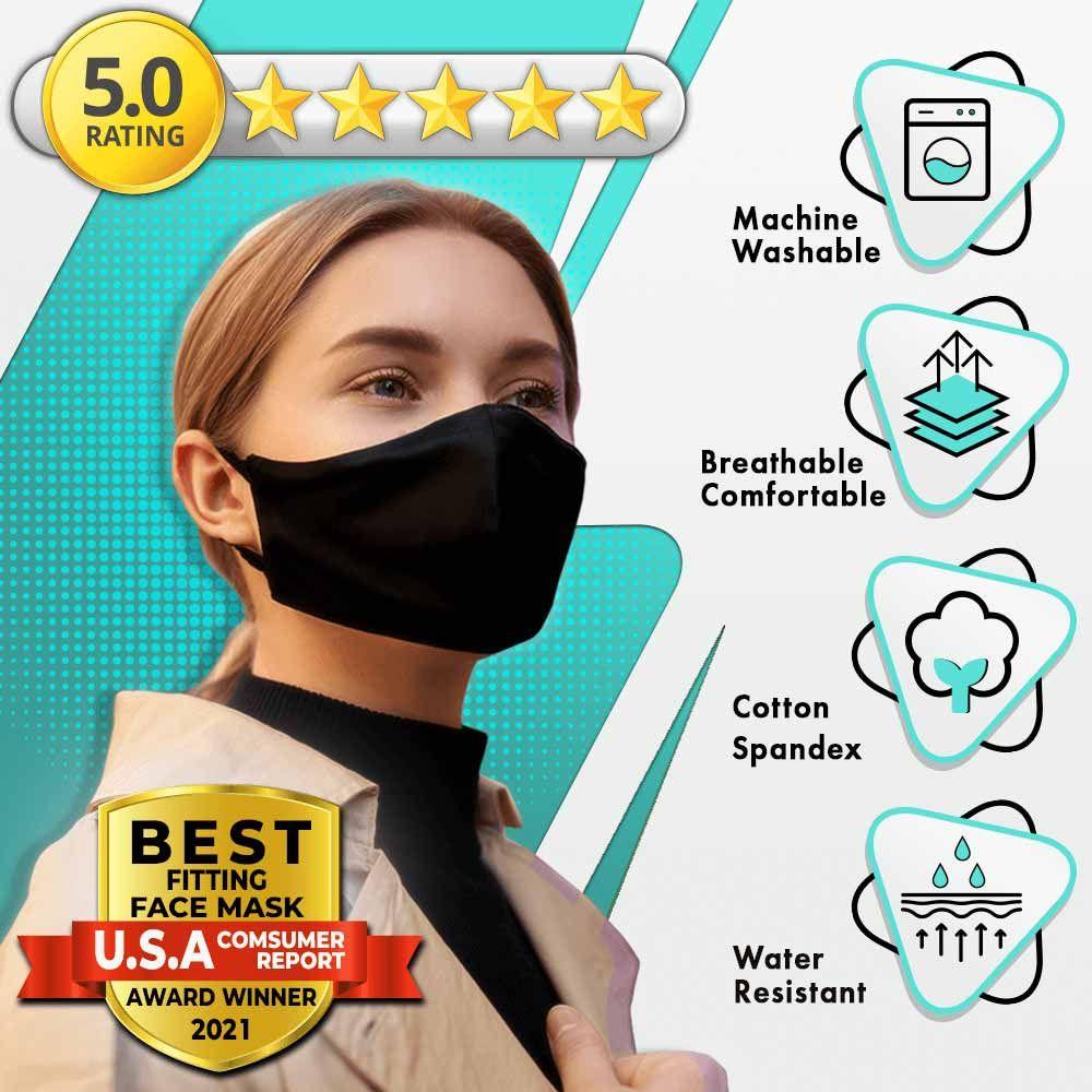 Nero Mask - The Most Comfortable & Stylish Black Face Mask