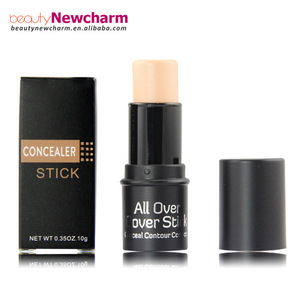 3 Color concealer stick Full coverage foundation private label whitening foundation cream concealer palette no logo