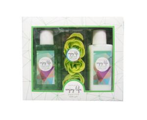 Assorted Fragrance Promotional Organic Bubble Bath Gift Set Bath Set Natural Perfume Body Bath and Works