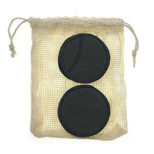 Best Selling 3 Layers Black Eco Friendly Organic Reusable Bamboo Makeup Remover Cotton Pads