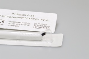 C style Blades Holder- Disposable holder Microblading Tools Permanent Make Up Eyebrow Tattoo Hair Stroke Microblading Supplies