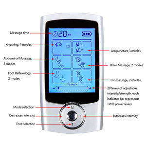 China wholesale market agents hot portable electronic muscle stimulator