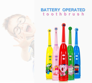 HONGLONG HL-248 Best Oral Hygiene Products Children Electrical Teeth Brush Rotary Electric Tooth Brush For Kids