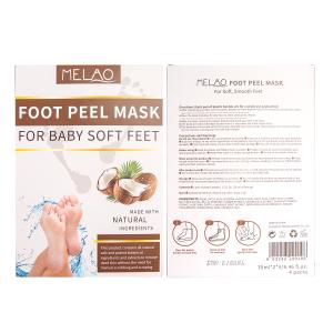 Natural Exfoliating Foot Mask Organic Feet Mask Foot Exfoliation Peeling Mask Exfoliating Peeling Natural Treatment OEM ODM