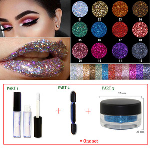 Quality Chinese Products body shimmer waterproof GLITTER PERMANENT HAIR COLOR