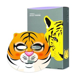 TIGER ANIMAL WRINKLE CARE MASK K-Beauty Korean Cosmetic Beauty  Wholesale Face Mask Makeup Cosmetic Korea Cosmetic Skin Care