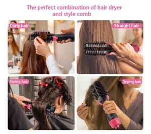 Truelybeauty Hair Straightener And Curler One Step Hair Dryer Brush Hair Brush Dryer