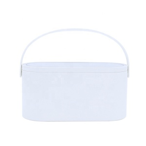 Yaeshii 2021 Fashional Makeup LED Mirror Touch Screen Vanity Mirror With Storage Box