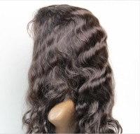 Lace front wig wavy