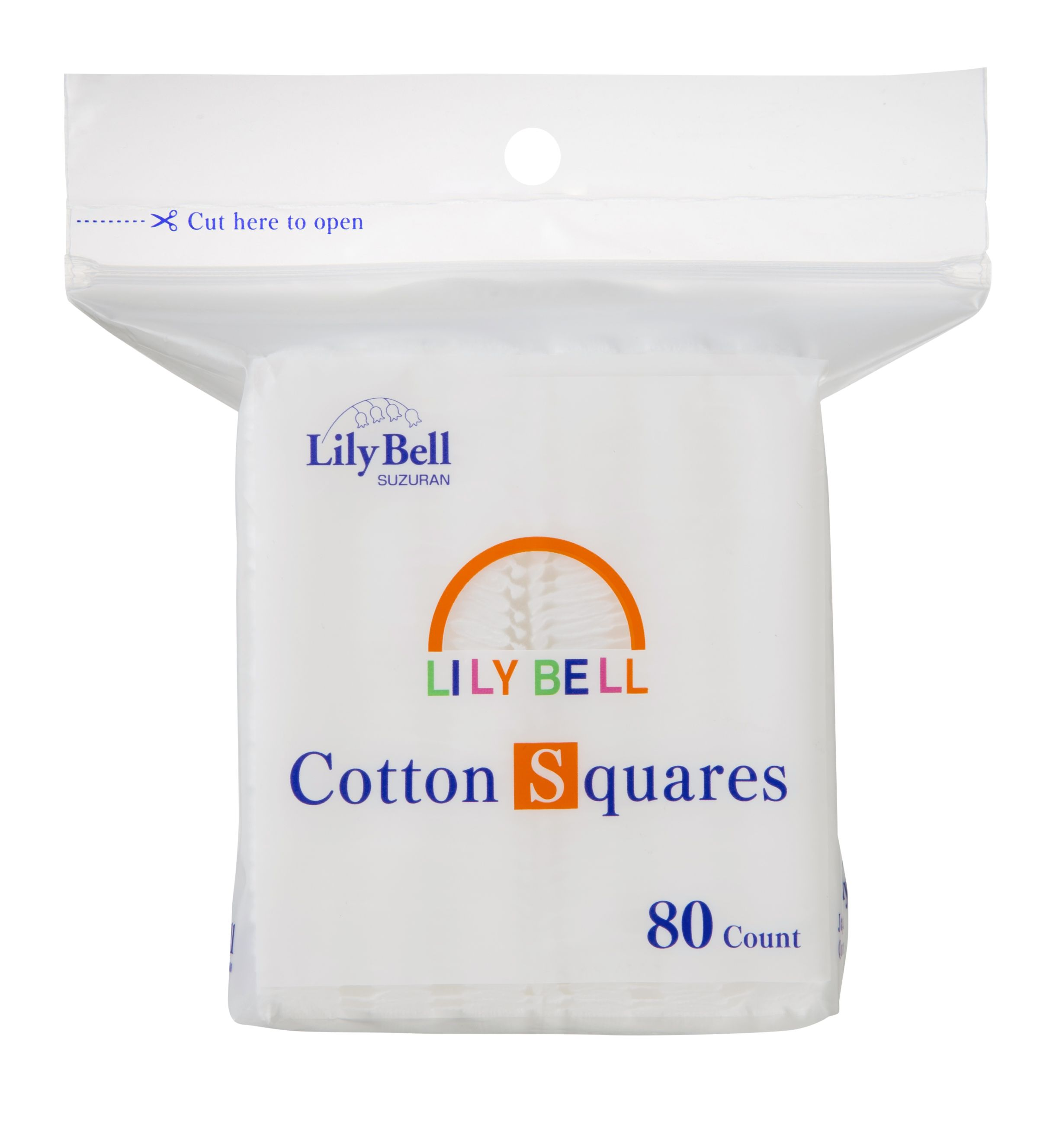 Cotton pads squares