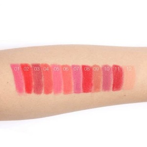 24 hours long lasting liquid lipstick matte glitter Lip Gloss with Multi-Colored