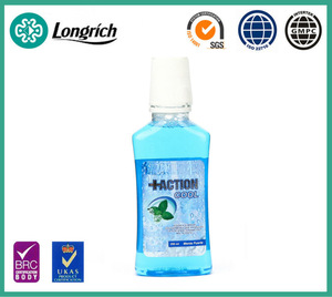250ml Mint Mouthwash - Strong mint Fresh breath, kill gems