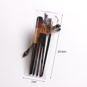 5Pcs/Set Makeup Brushes Set Foundation Powder Blush Cosmetic Highlighter Brush Kit Eyebrow Lip Eye Shadow Eyeliner Tools