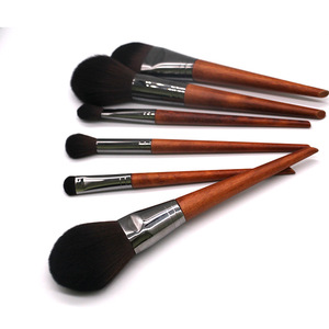 Hot Popular Makeup Tools Fashion 10pcs Customize Synthetic Nylon Hair Private Label Facial Brush Set