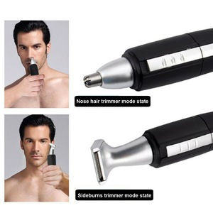 Hot product handled men ear and nose hair trimmer with CE RoHS