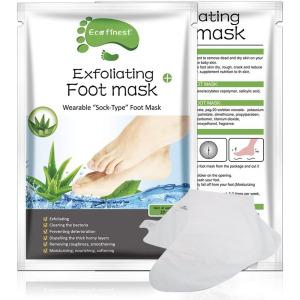 Hot sale best foot skin care peeling foot mask Remove Dead Skin Exfoliating Foot Mask Socks