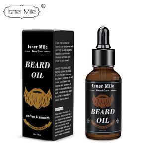 Isner Mile Beard Oil Moustache Growth Natural Softener Grooming Moisturizer Essential oil for men 30ml
