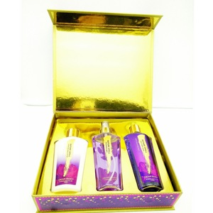 Luxuires box packaging skin care bath perfume gift set for spa