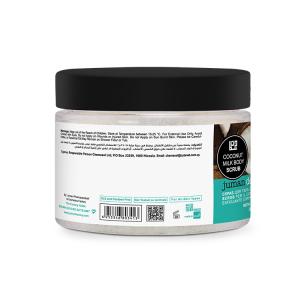 New Design Hot Selling Organic Dead Sea Minerals Coconut Milk Body Whitening Scrub