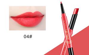 New design professional make up cosmetics custom organic double end matte fashion color lipstick lip liner pencil