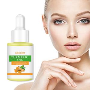 Private Label Organic Whitening Turmeric Essential Oil  Anti-Aging Anti Acne Turmeric Facial Face Oil