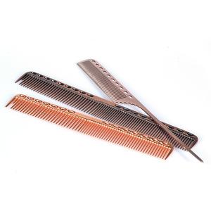 Pro Salon Kit Top Durable Space Aluminum Metal Pin Hair Rat Tail Trim Comb For Hairdressing
