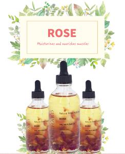 Rose oil 100% pure Private label Natural Skin Care Body Massage Oil Aromatherapy Rose essential oil