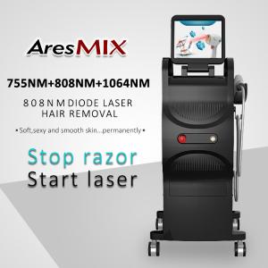 Triple Wavelengths Painless 800w 808nm 755nm 1064nm Diode Laser Hair Removal machine