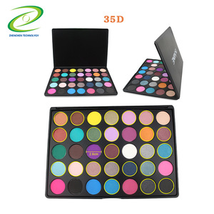 UONOFO custom eyeshadow palette with private label 35 color makeup eye palettes shadow pigment eyeshadow powder palette