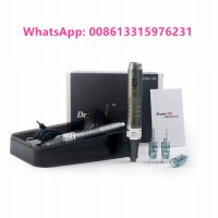 Professional dr.pen needle ultima m8 rechargeable derma pen microneedling dermapen with LED display cartridges rolling system for face skin care home use