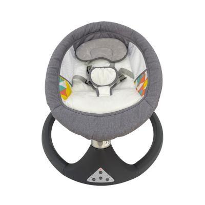 Ajustable Backrest Baby Swing Bed Safety Seat Belt Infant Cradles and Bassinet