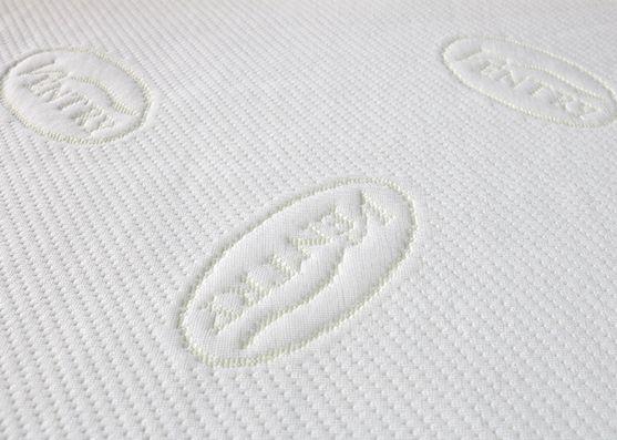 New Style Jacquard Spun Poly Mattress Knitted Fabric