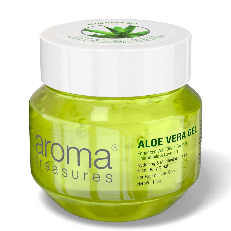 Aroma Treasures Aloe vera Gel ( 125 Grams )