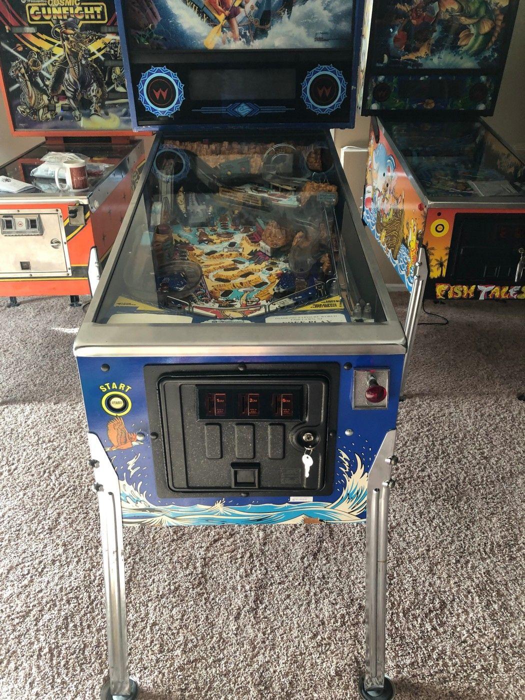 902 Games Virtual Flipper Pinball Arcade Game Machine for Amusement