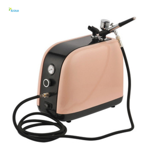 Airbrush Compressor HS-386K Air Brush for Barber Nail Art Makeup Model Painting
