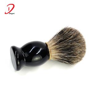 black  wood handle shaving brush,custom label shaving brushes