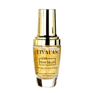 Christmas gift skin care serum 24K Gold anti wrinkle serum 30ml