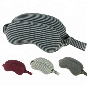 Eye mask U - shaped travel pillow 2 in 1 U - shaped neck pillow