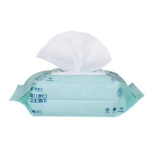 Factory Outlet white Wet Wipes For Baby with no preservatives, no additives, no fluorescer